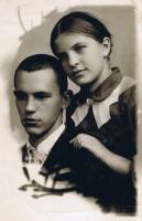 Оксана з братом Віктором, 1939 рік